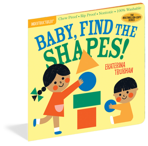 Indestructibles Baby Book Baby, Find the Shapes