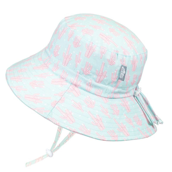 Jan & Jul Sun Hat Aqua Dry Bucket Coral