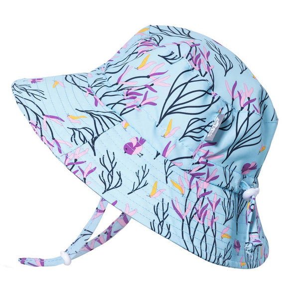 Jan & Jul Sun Hat Aqua Dry Bucket Spring Flowers