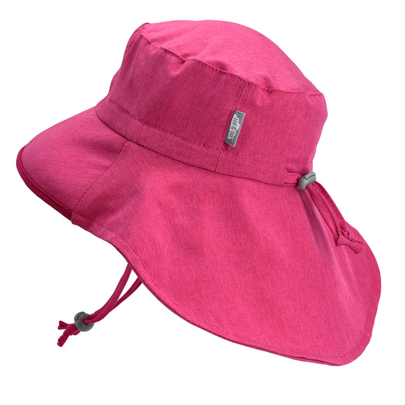 Jan & Jul Sun Hat Aqua Dry Adventure Hot Pink