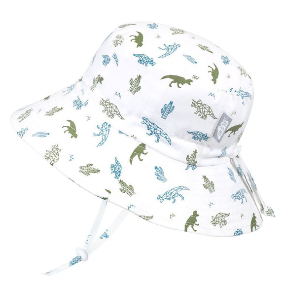 Jan & Jul Sun Hat Cotton Bucket Dinos
