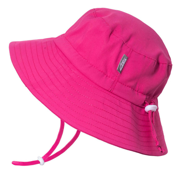 Jan & Jul Sun Hat Aqua Dry Bucket Hot Pink