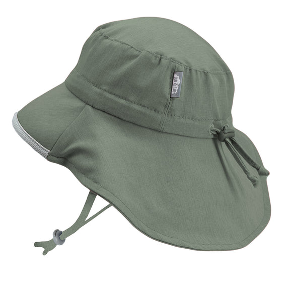 Jan & Jul Sun Hat Aqua Dry Adventure Army Green