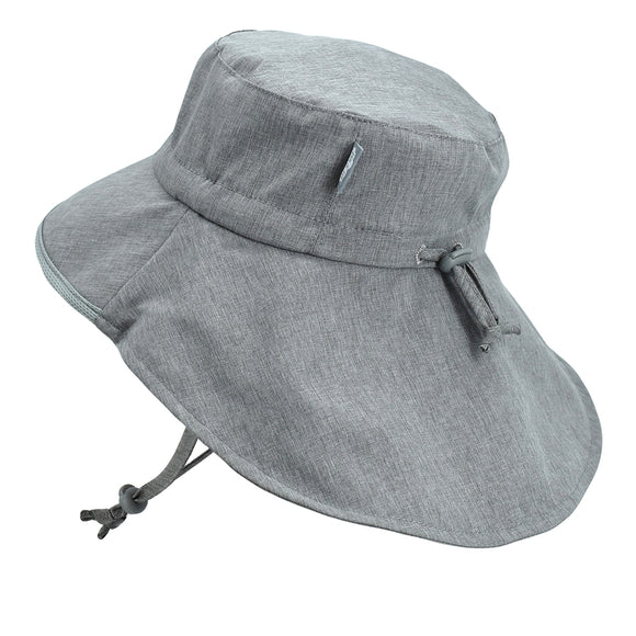 Jan & Jul Sun Hat Aqua Dry Adventure Grey