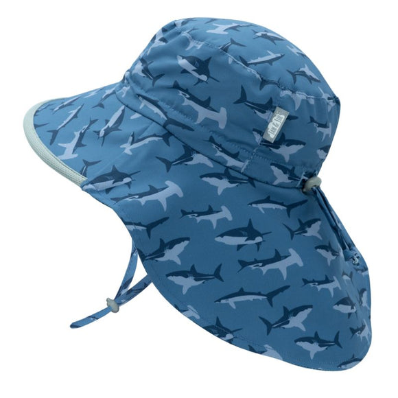 Jan & Jul Sun Hat Aqua Dry Adventure Sharks