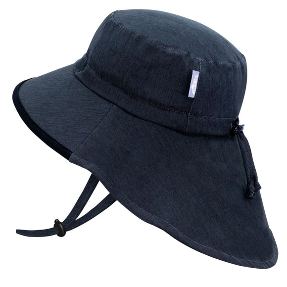 Jan & Jul Sun Hat Aqua Dry Adventure Black
