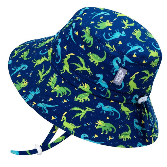 Jan & Jul Sun Hat Aqua Bucket Dinoland