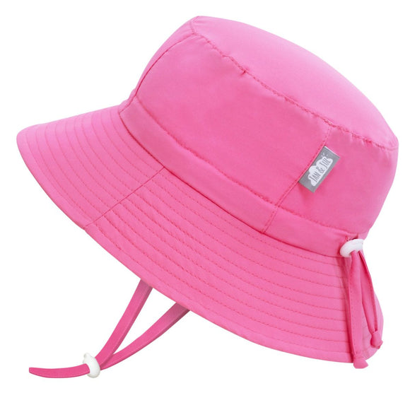 Jan & Jul Sun Hat Aqua Dry Bucket Pink
