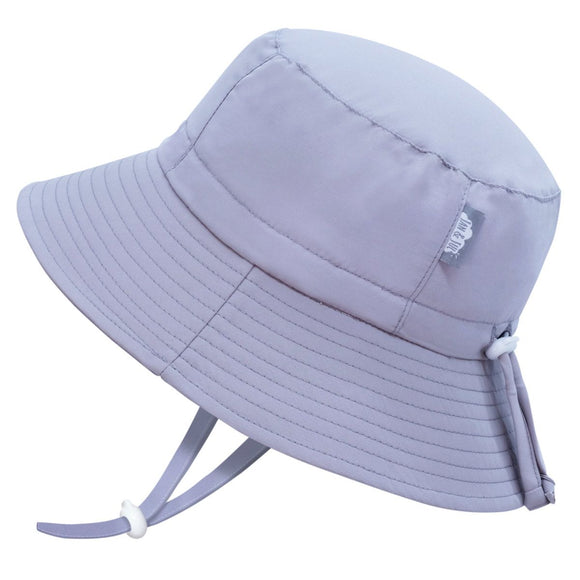 Jan & Jul Sun Hat Aqua Dry Bucket Grey