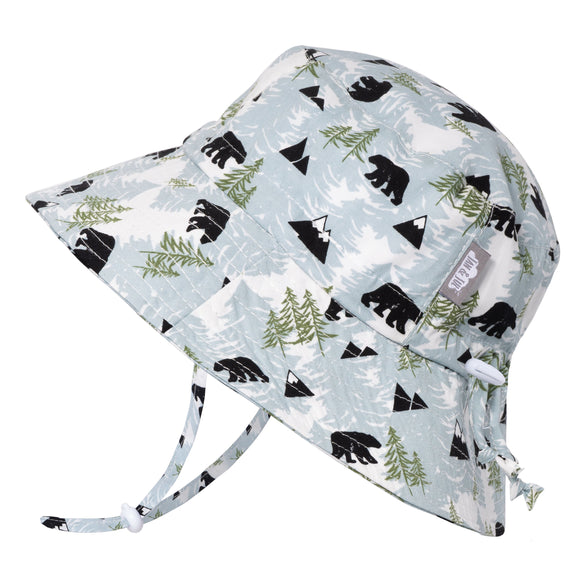 Jan & Jul Sun Hat Cotton Bucket Bear