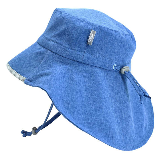 Jan & Jul Sun Hat Aqua Dry Adventure Blue