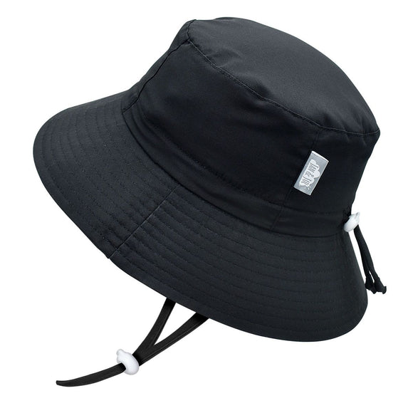 Jan & Jul Sun Hat Aqua Dry Bucket Black