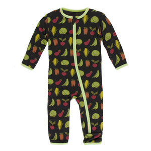KicKee Pants Coverall Veggies