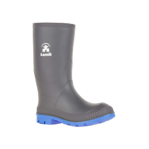 Kamik Rain Boot STOMP Charcoal/Blue