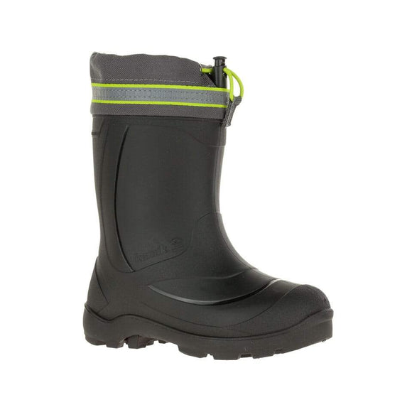 Kamik Winter Boot SNOBUSTER 3 Charcoal/Lime