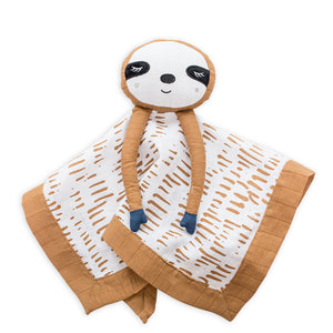 Lulujo Muslin Lovie Sloth