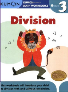 Kumon Math Workbook Grade 3 Division