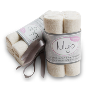 Lulujo Organic Face Cloths