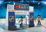 Playmobil 9016 NHL Hockey Score Clock with Referees