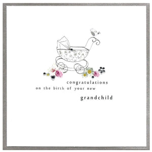 Baby Card Congratulations Grandchild