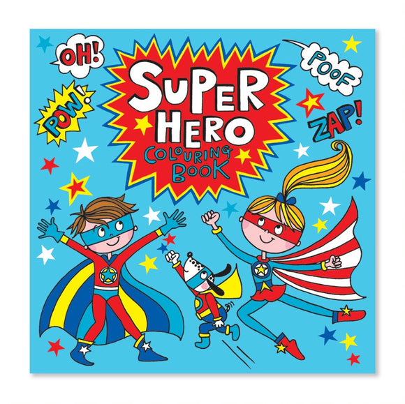 Colouring Book Super Hero