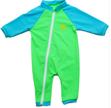NOZONE Tahiti Full Zip UV Suit Lime/Aquatic