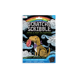 Ooly Scratch & Scribble Mini Scratch Art Kit Playful Pups
