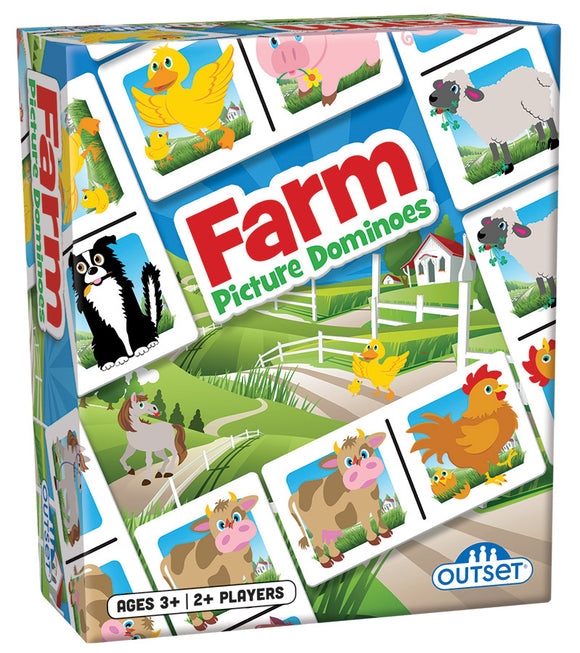 Outset Farm Picture Dominos