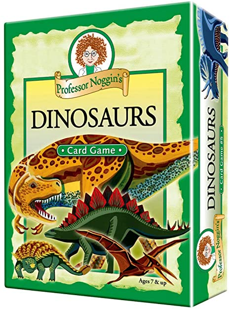 Professor Noggin's Card Game Dinosaurs