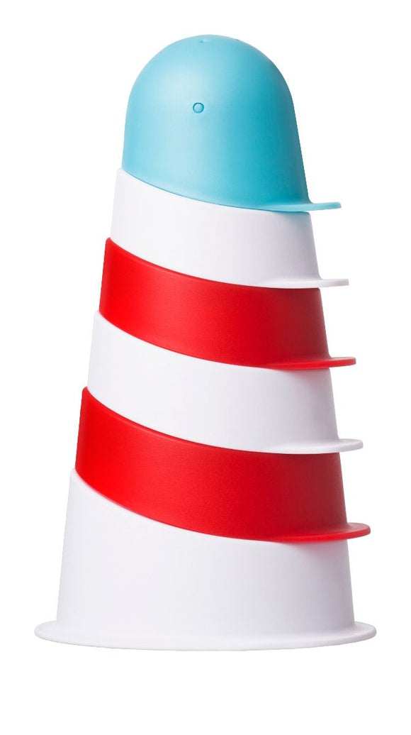 Ubbi Bath Lighthouse Stacking Cups