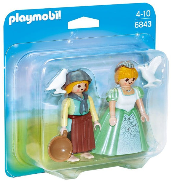 Playmobil 6843 Princess & Handmaid Duo Pack