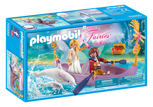 Playmobil 70000 Fairies Romantic Fairy Boat