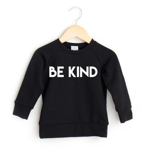Posh & Cozy Crew BE KIND Black