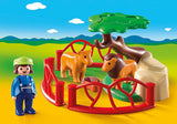 Playmobil 123, 9378 Lion Enclosure
