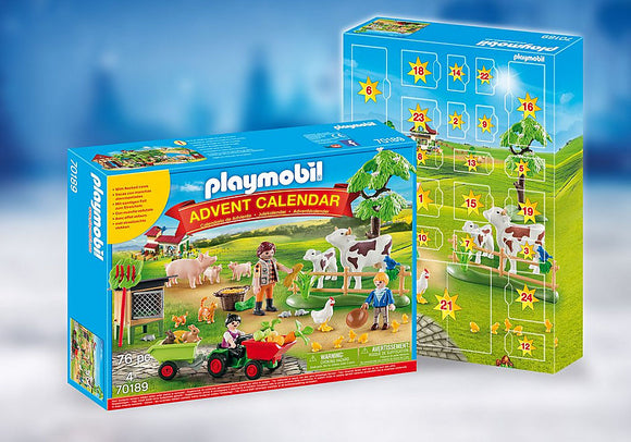 Playmobil 70189 Advent Calendar- Farm