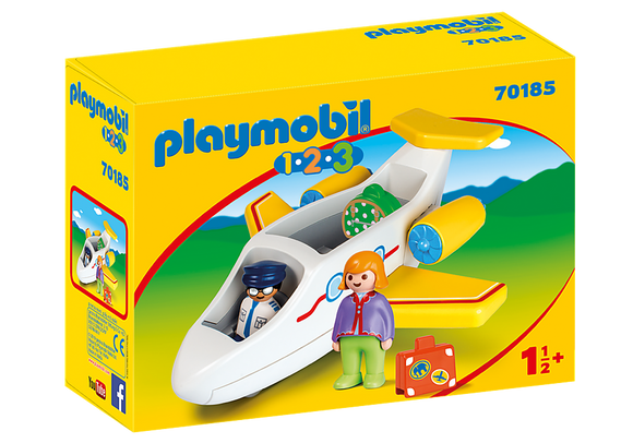 Playmobil 123, 70185 Plane with Passenger