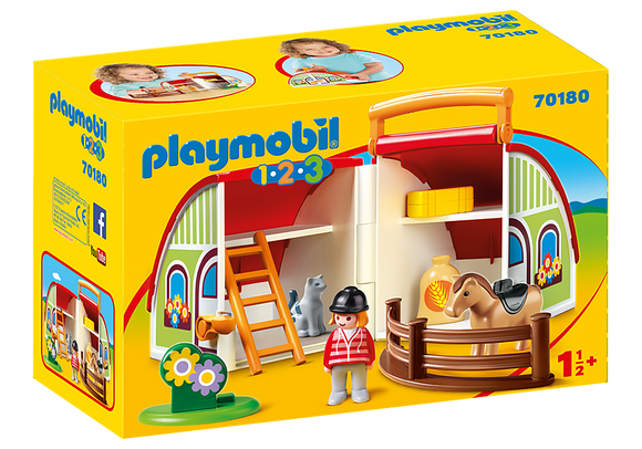 Playmobil 123, 70180 My Take Along Farm