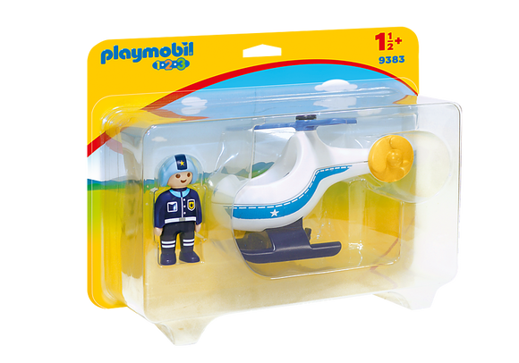 Playmobil 123, 9383 Police Copter
