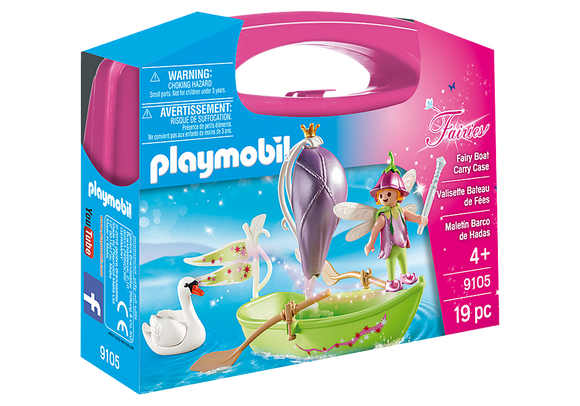 Playmobil 9105 Fairies Fairy Boat Carry Case