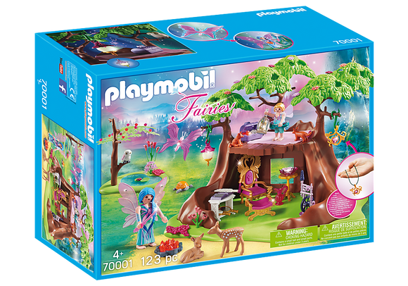 Playmobil 70001 Fairies Fairy Forest House