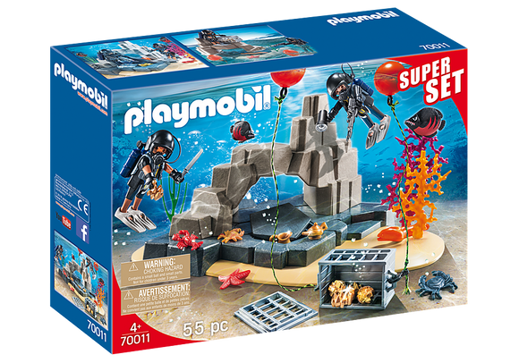 Playmobil 70011 SuperSet Tactical Dive Unit