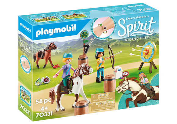 Playmobil 70331 Spirit Riding Free Outdoor Adventure