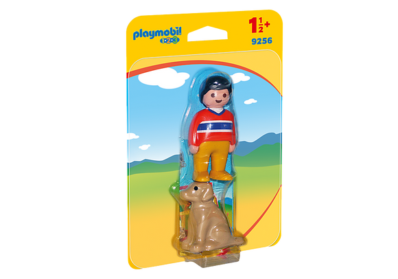 Playmobil 123, 9256 Man with Dog