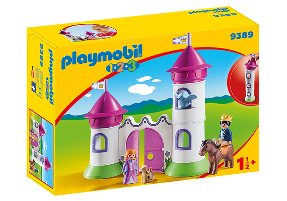 Playmobil 123, 9389 Castle w/Stackable Towers