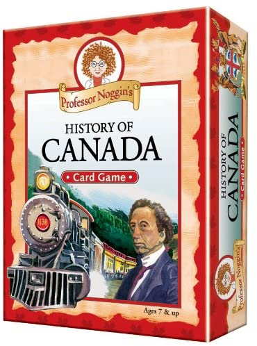 Professor Noggin's History of Canada Card Game