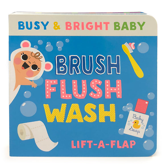 Brush Flush Wash Book