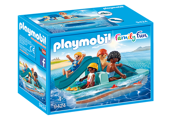 Playmobil 9424  Family Fun Summer Villa Paddle Boat