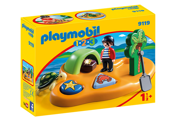 Playmobil 123, 9119 Pirate Island