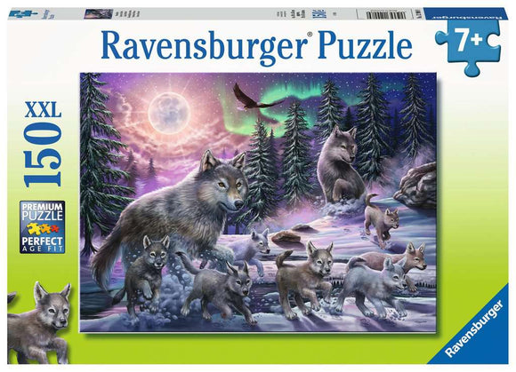 Ravensburger 150pc 12908 Puzzle Northern Wolves