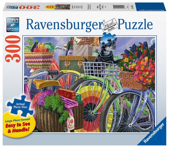 Ravensburger 300pc Large Format Puzzle Bicycle Group